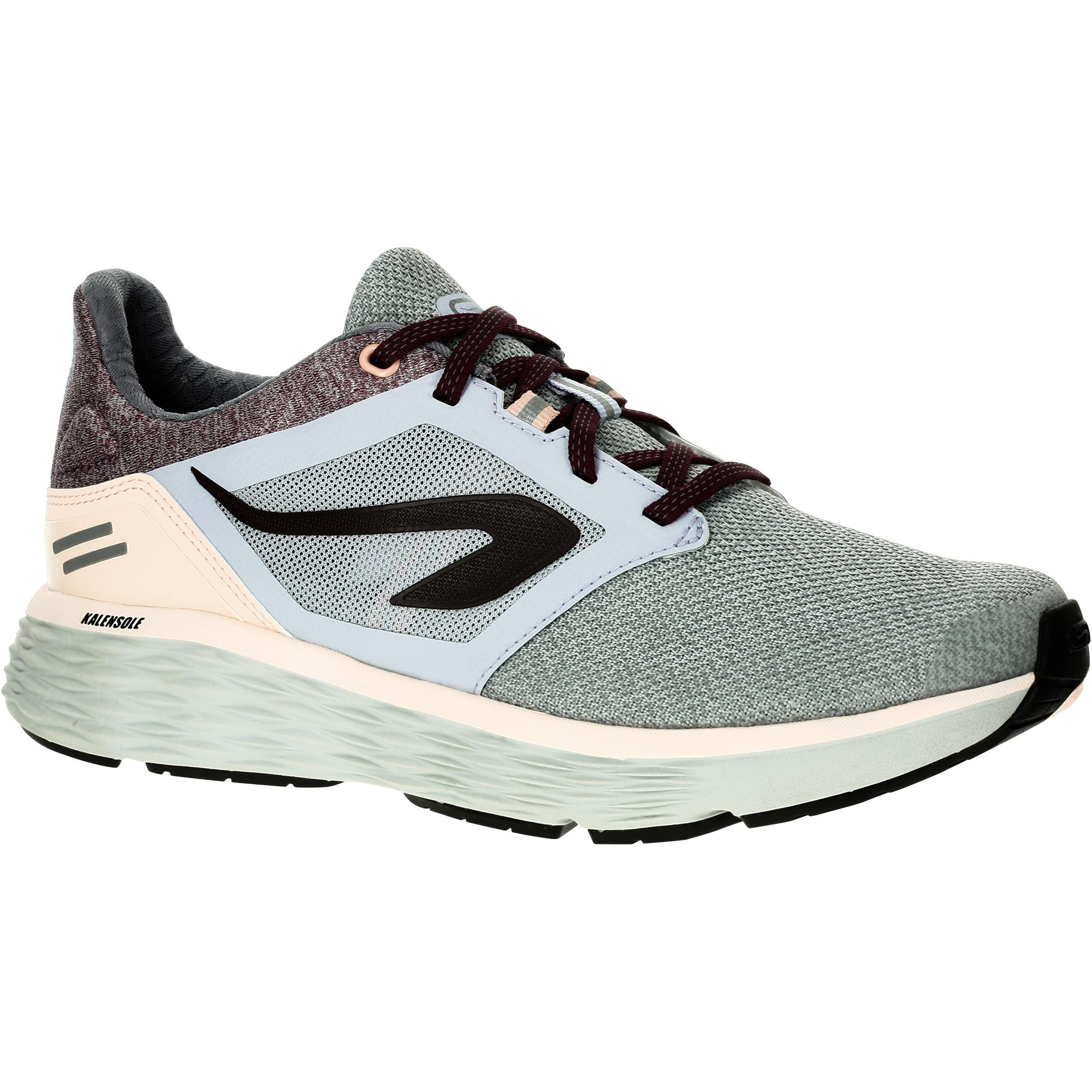 Kalenji Joggingschoenen voor dames Run Comfort grijs roze