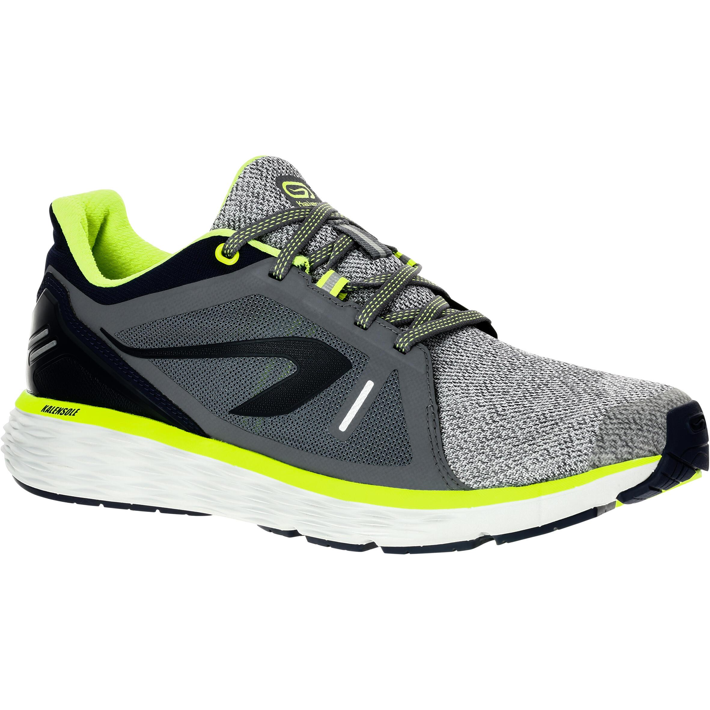 Kalenji Hardloopschoenen voor heren Run Comfort grijs
