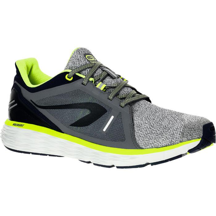Hardloopschoenen voor heren Run Comfort grijs