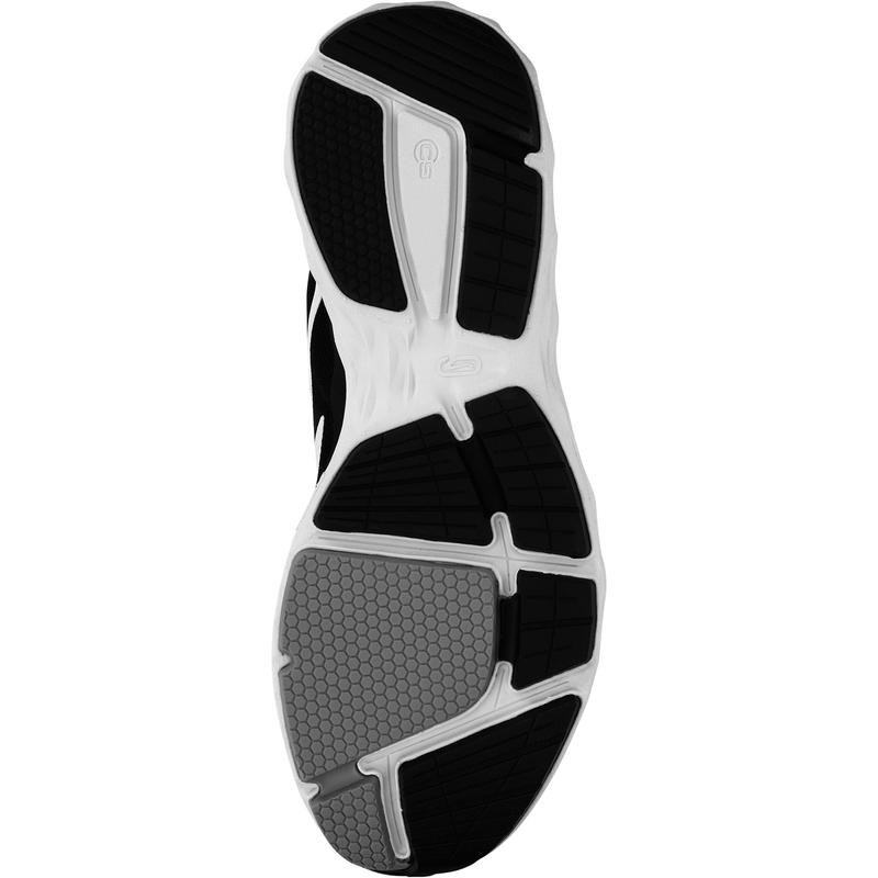 รองเท้าผู้หญิงสำหรับใส่วิ่งรุ่น RUN COMFORT (สีดำ/เทา)