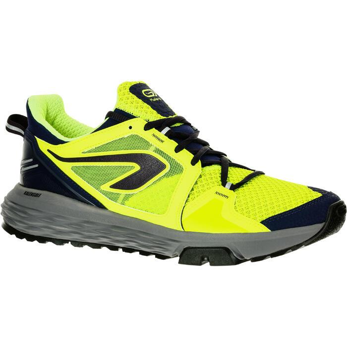 Loopschoenen voor heren Run Comfort grip geel