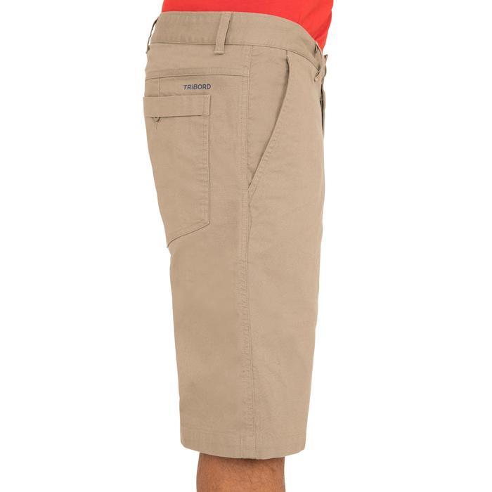 100 Men's Sailing Bermuda Shorts - Beige - 1267163