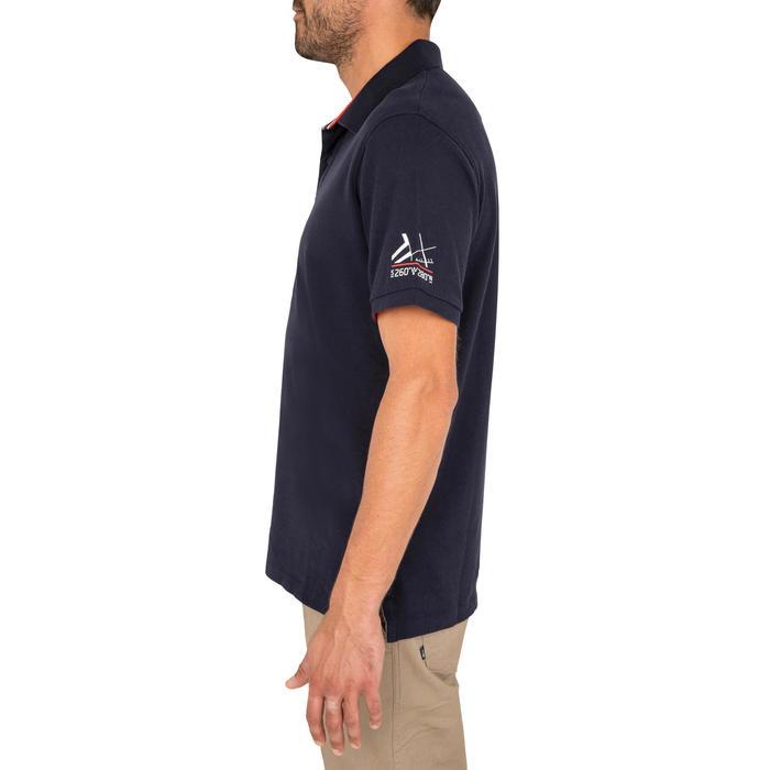 Poloshirt kurzarm Adventure 100 Uni Herren dunkelblau