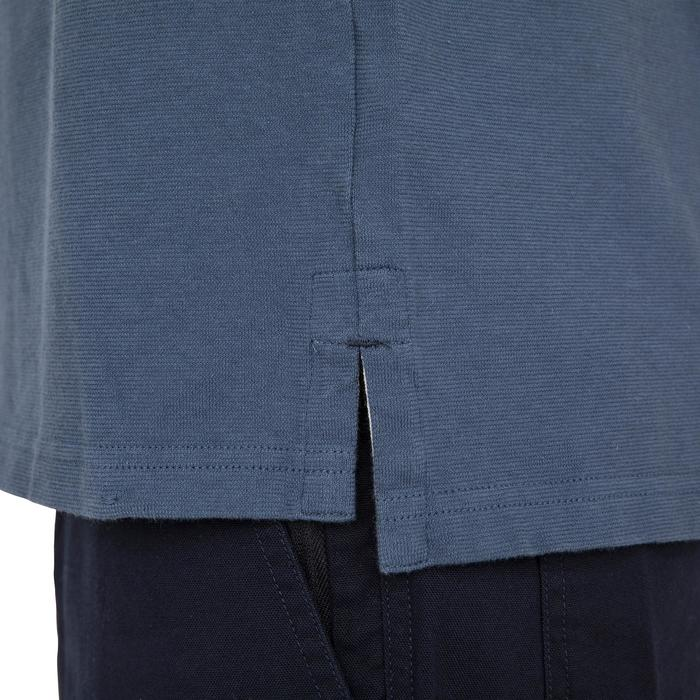 Poloshirt kurzarm Segeln Adventure 100 Herren uni grau