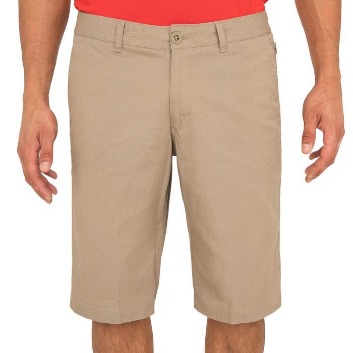 100 Men's Sailing Bermuda Shorts - Beige - 1267208