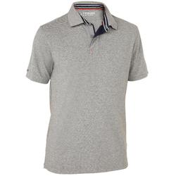 100 Men's Sailing Polo Shirt - Grey