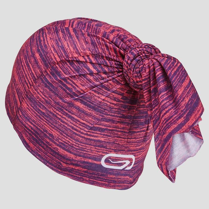 Multifunctionele hoofdband voor hardlopen gemêleerd roze