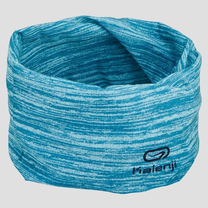 Multifunctionele hoofdband voor hardlopen groen blauw