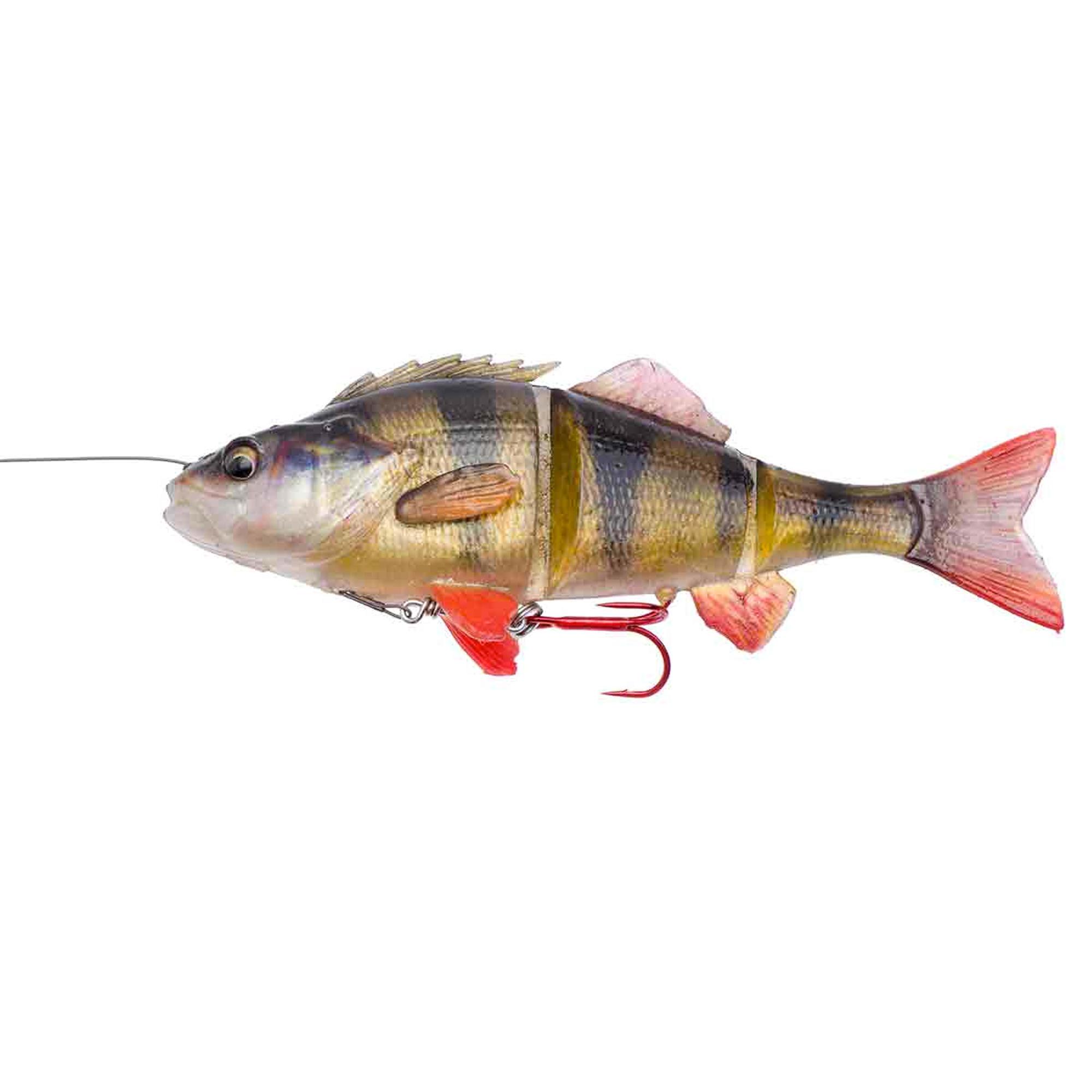 Savagear Swimbait roofvissen Line Thru Perch 17 cm