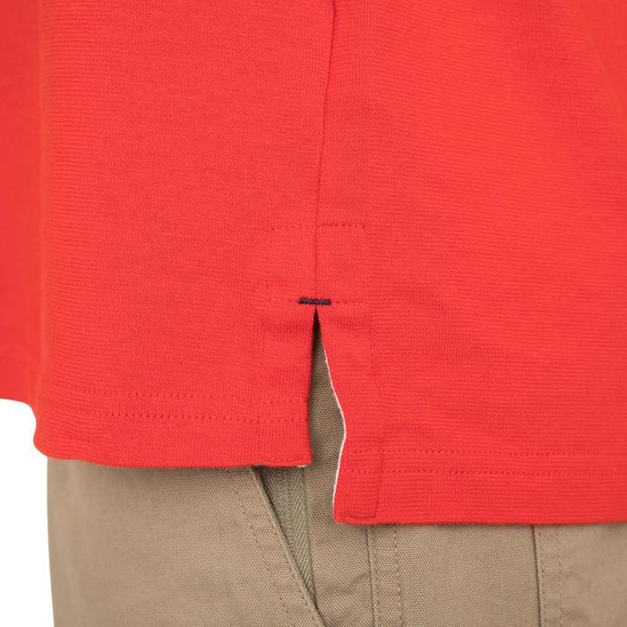 Zeilpolo 100 met korte mouwen voor heren rood