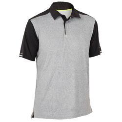 Men's Short-sleeved Race Sailing Polo Shirt Dark Blue