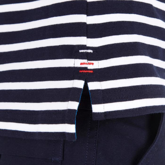 T-Shirt ML voile ADVENTURE 100 Garçon Rayé - 1267377