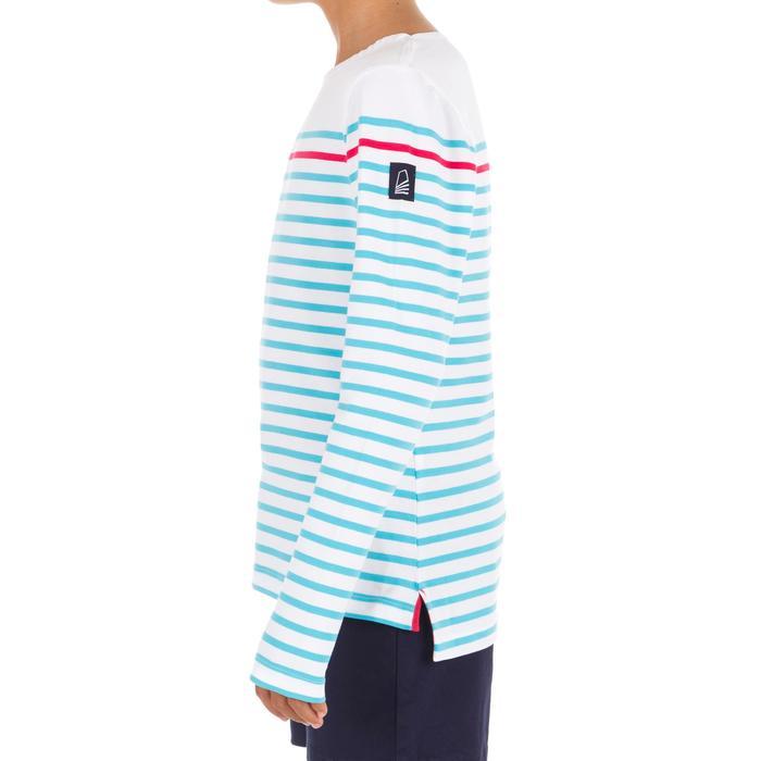 T-Shirt ML voile ADVENTURE 100 Fille Blanc - 1267381