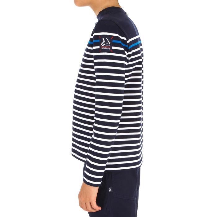 T-Shirt ML voile ADVENTURE 100 Garçon Rayé - 1267382