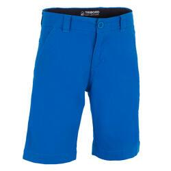 Bermuda Voile ADVENTURE 100 Garçon Bleu foncé