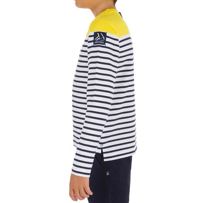 T-Shirt ML voile ADVENTURE 100 Garçon Rayé - 1267384