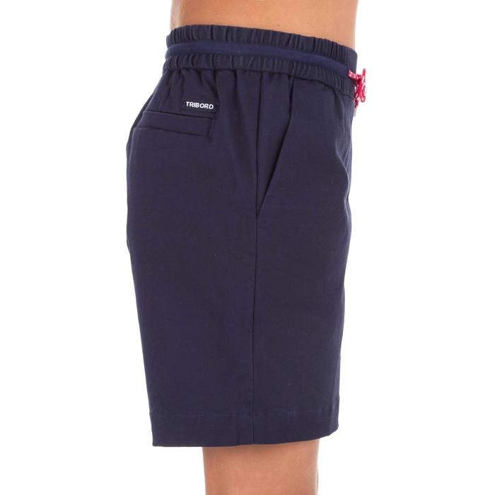 Short voile SAILING 100 Fille Bleu