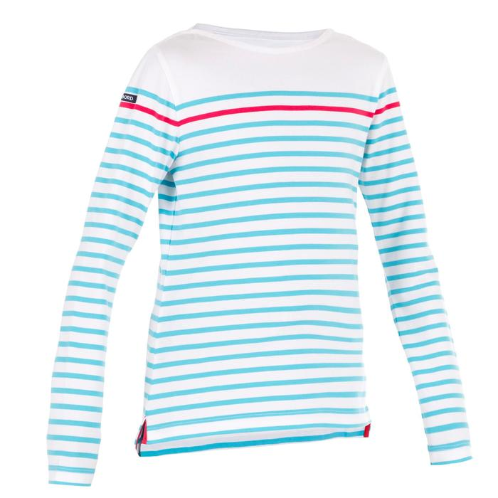 T-Shirt ML voile ADVENTURE 100 Fille Blanc