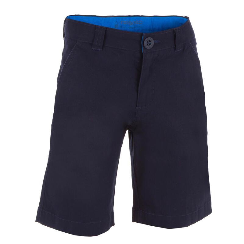 Bermuda short de voile SAILING 100 enfant garçon Bleu foncé
