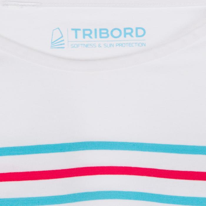 T-Shirt ML voile ADVENTURE 100 Fille Blanc - 1267400