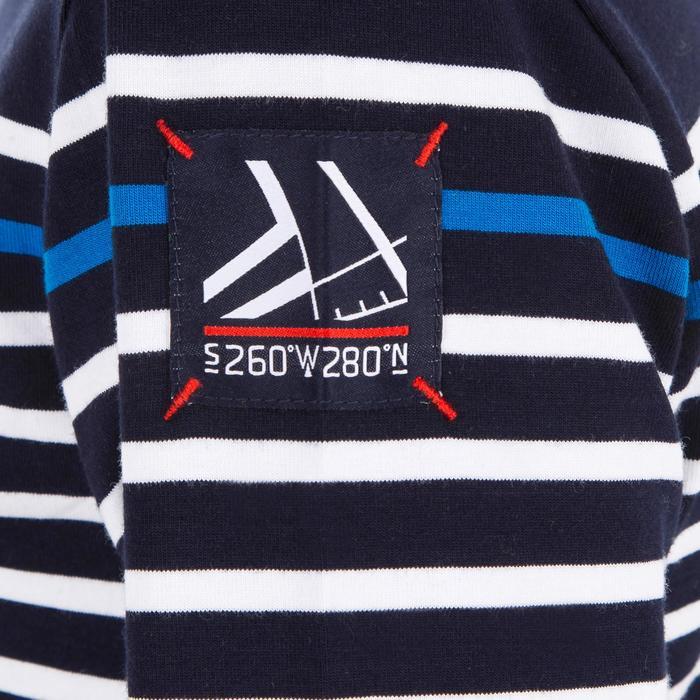 T-Shirt ML voile ADVENTURE 100 Garçon Rayé - 1267406
