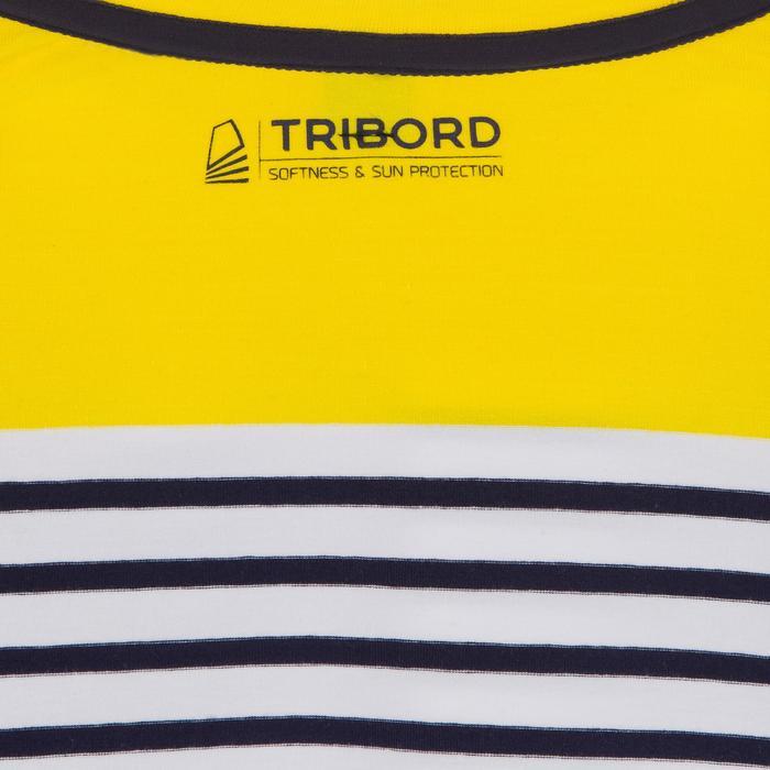 T-Shirt ML voile ADVENTURE 100 Garçon Rayé - 1267407