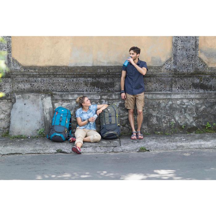 Hemd Travel 50 Herren blau