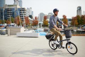 Tracer sa route à vélo intermodal