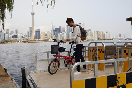 Panier souple de 10l pour vélo pliant