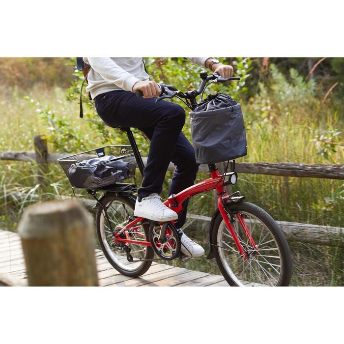 Folding Bike Basket - 10L
