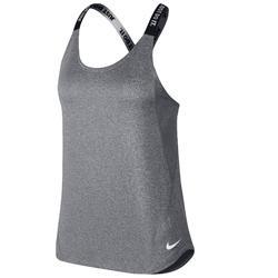 Fitnesstopje voor dames grijs Nike