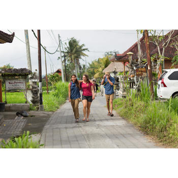 Afritsbroek trekking Travel 500 dames grijs