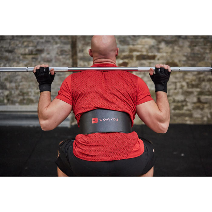 Gewichthebergürtel Krafttraining Leder