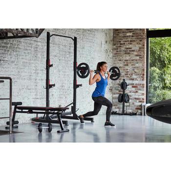 Manchon squat et relevé de bassin (Hip trust & glute bridge) noir