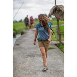 Afritsbroek trekking Travel 500 dames camel