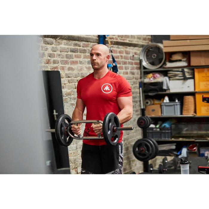 Halterstang om de triceps te trainen 86 cm 28 mm