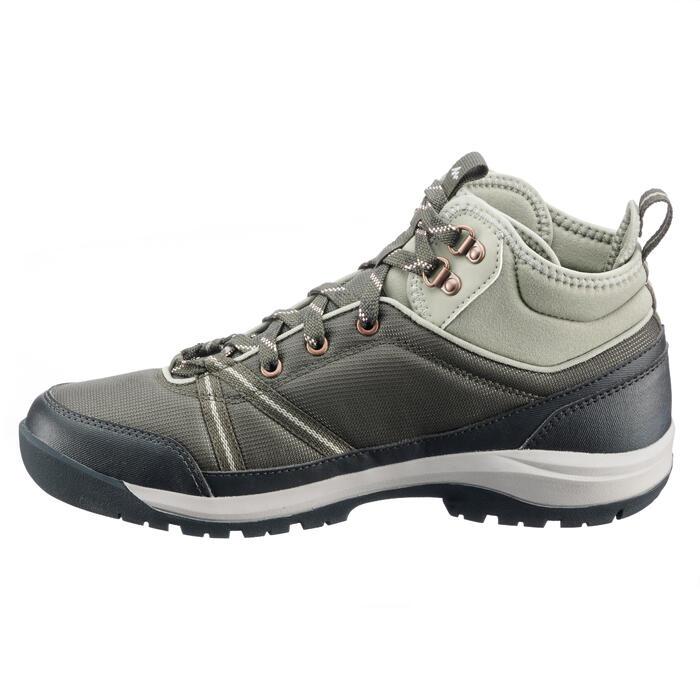 Chaussure de randonnée nature NH300 mid imperméable femme - 1268388