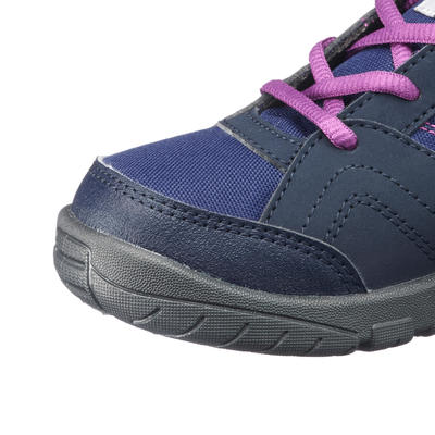 Kids' Hiking Boots MH100 Mid JR 35 to 38 - Purple