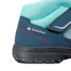MH100 Mid Kid Kids' Hiking Boots - Grey/Pink
