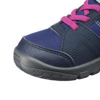 MH100 Mid Kid Kids' High Hiking Boots US Sizes Infant 7 to Kids 2 - Blue/Purple