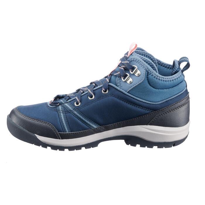 136a4718314625 Quechua Chaussures de randonnée nature NH150 mid Protect femme ...