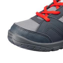 Hoge wandelschoenen voor kinderen MH100 mid zwart/rood 35 tot 38