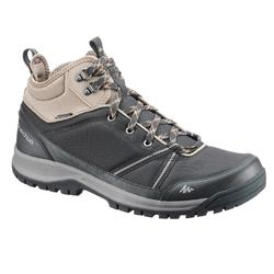 NH300 Mid Men's Waterproof Nature Hiking Boots - Black