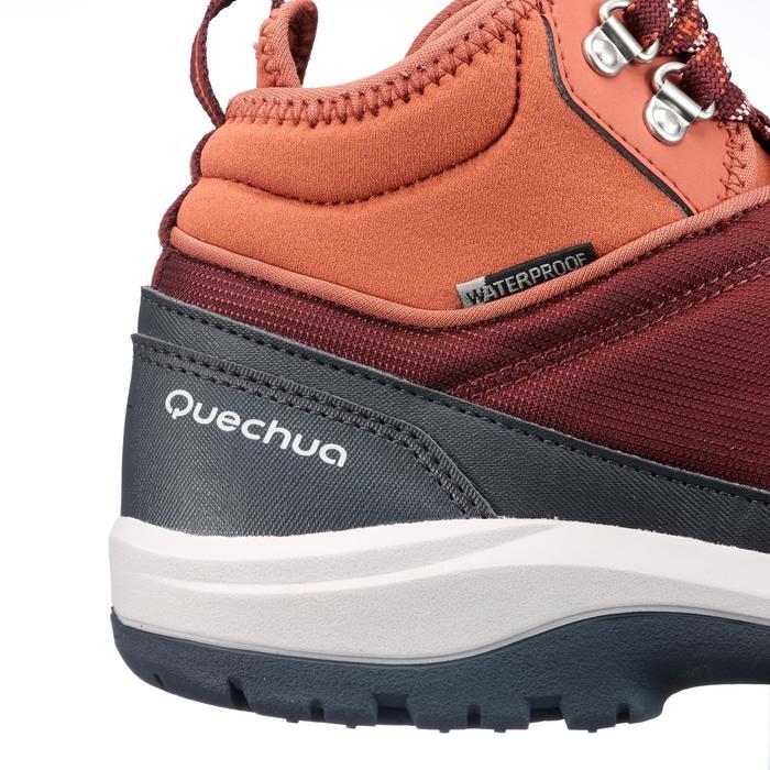 Chaussure de randonnée nature NH300 mid imperméable femme - 1268467