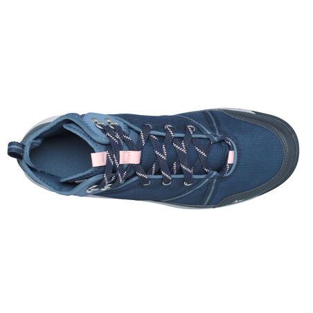 Chaussures imperméables de randonnée nature - NH150 Mid WP - Femmes