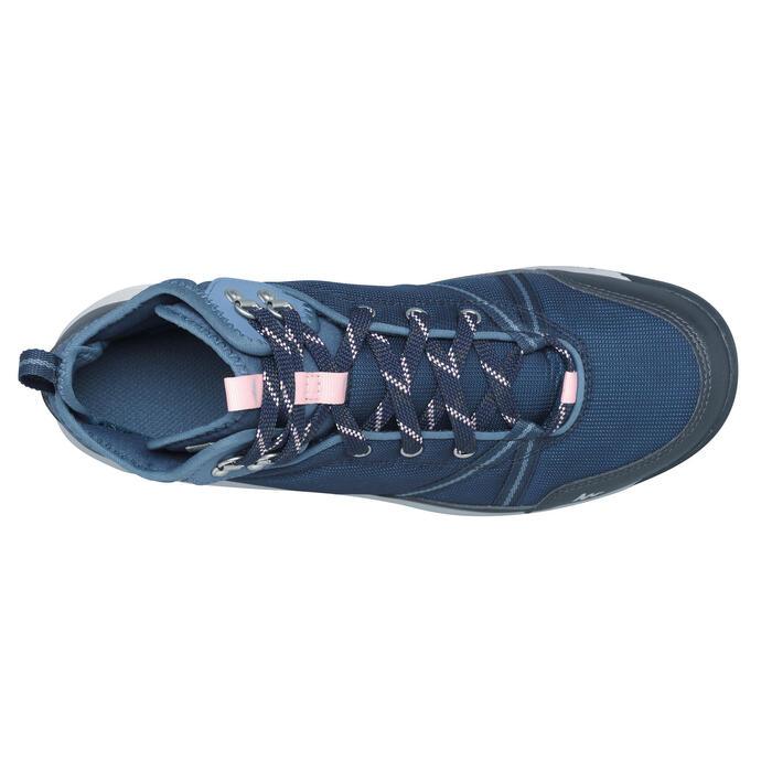 Chaussure de randonnée nature NH300 mid imperméable femme - 1268474