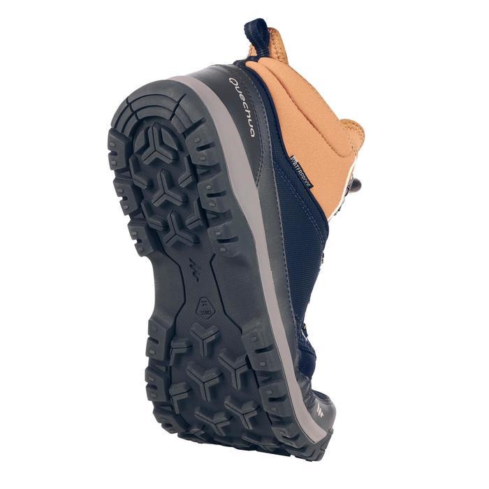Botas de senderismo en la naturaleza NH300 mid impermeable marrón hombre