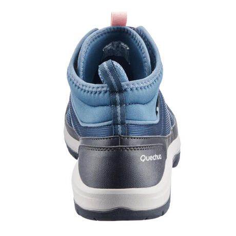 71559f98541eec Chaussures de randonnée nature NH150 mid Protect bleu femme. Previous. Next