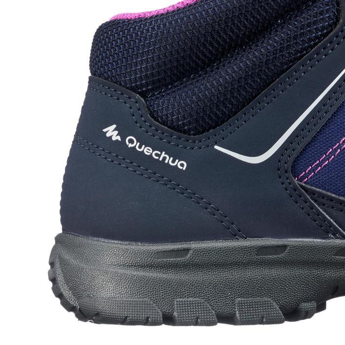 Hoge wandelschoenen voor kinderen MH100 mid paars 35 tot 38