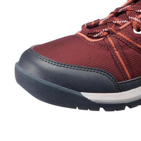 Chaussures de randonnée nature NH150 mid Protect bordeaux femme. Previous.  Next db5054f88f80